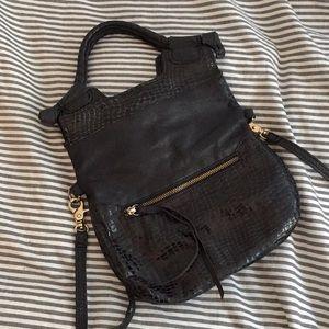 Small black Foley + Corinna disco bag